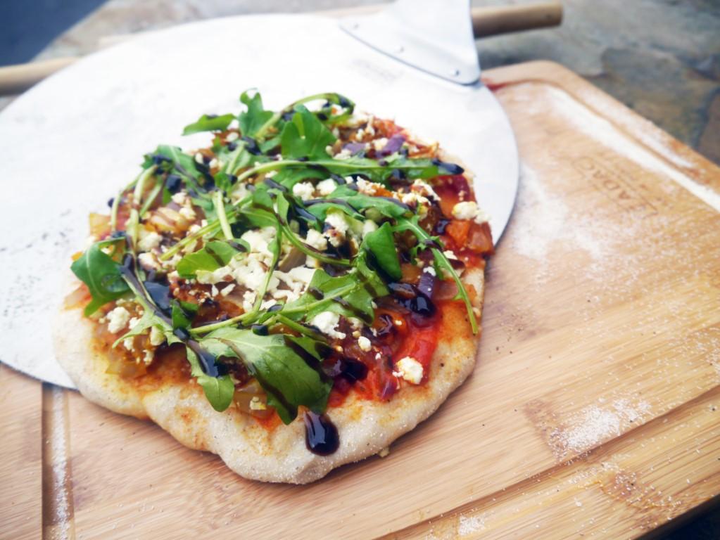 Recette Pizza feta et potiron | CADAC