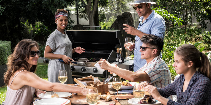Everything about the CADAC Built-in BBQ | Meridian Built-in