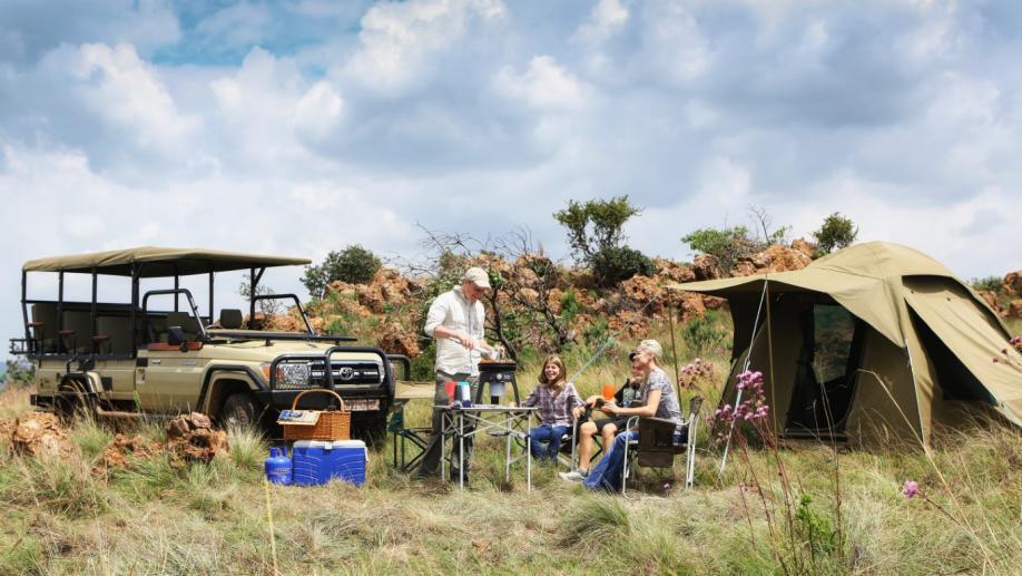 Kochen auf dem Campingplatz