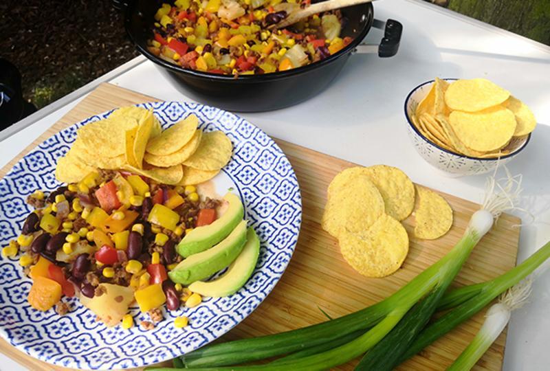 Fasola po meksykańsku z warzywami