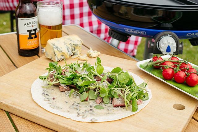Steak and Stilton Wrap