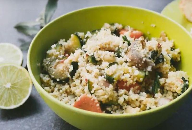 Groente couscous